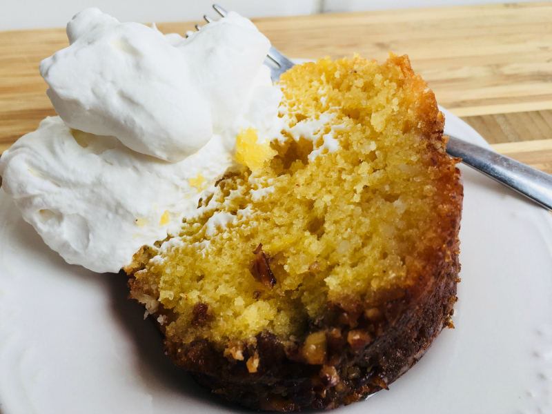 Bacardi Rum Cake by The Spirited Thrifter