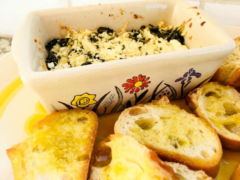 2 Recipes for Baked Goat Cheese by The Spirited Thrifter