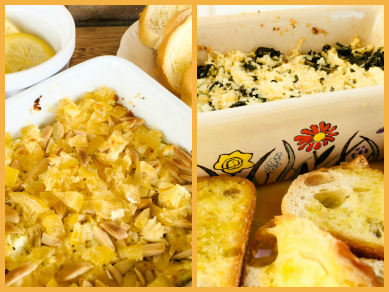 2 Recipes for Baked Goat Cheese