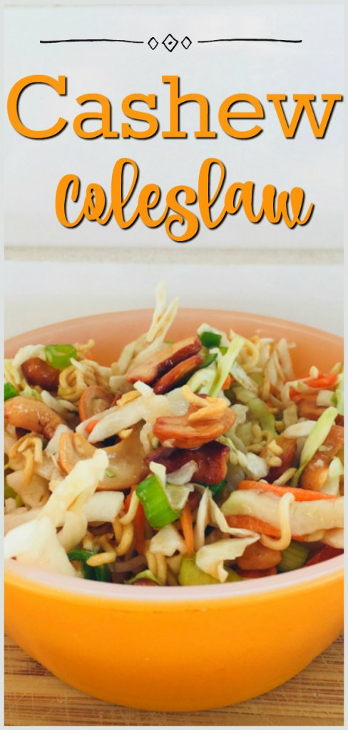 Cashew Coleslaw Recipe