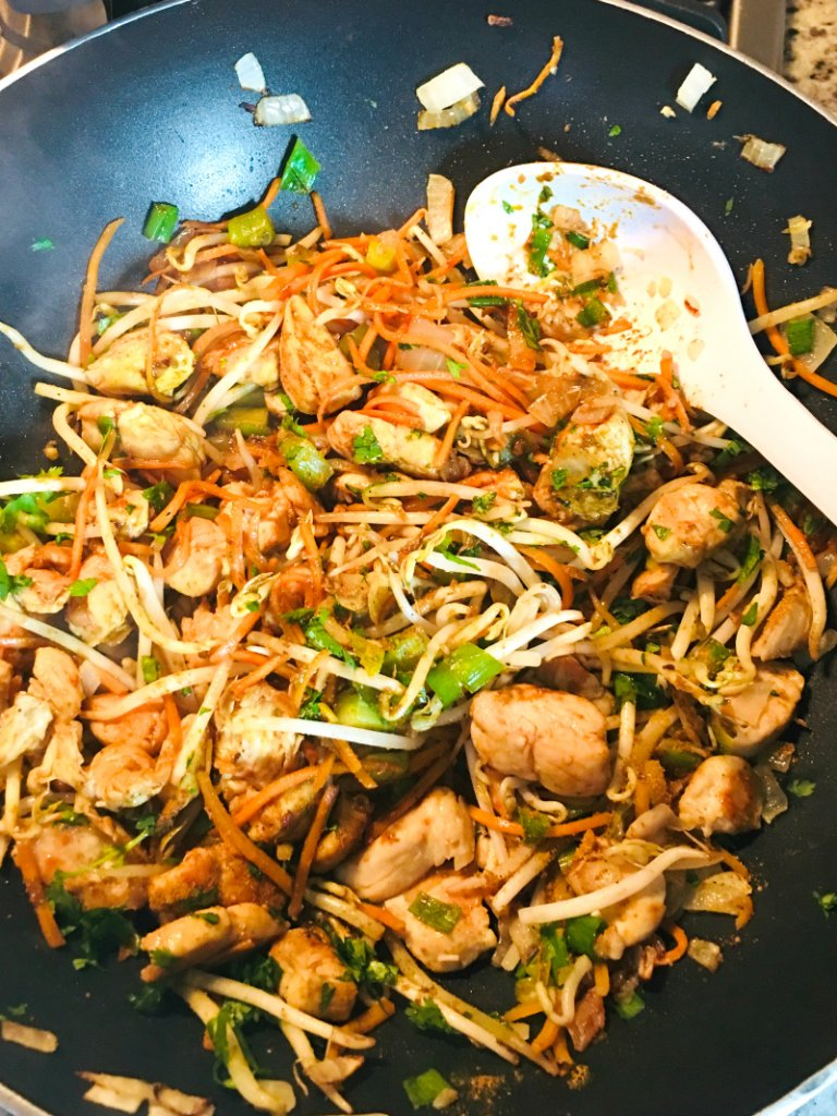 Crazy Rich Asian Party Food - Singapore Noodles