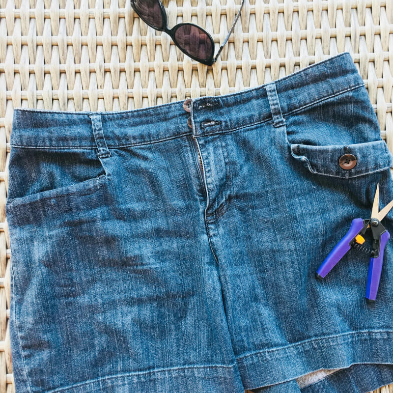 DIY Shorts Fix