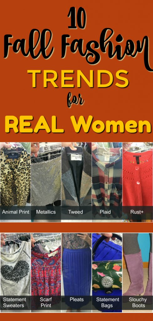10 Fall Fashion Trends for Real Women By The Spirited Thrifter
