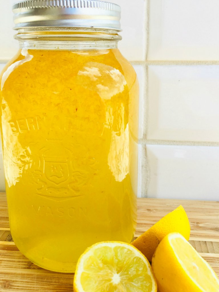 Nana's Homemade Lemonade Concentrate Recipe
