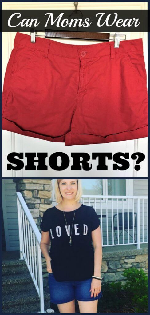 Can moms wear shorts?