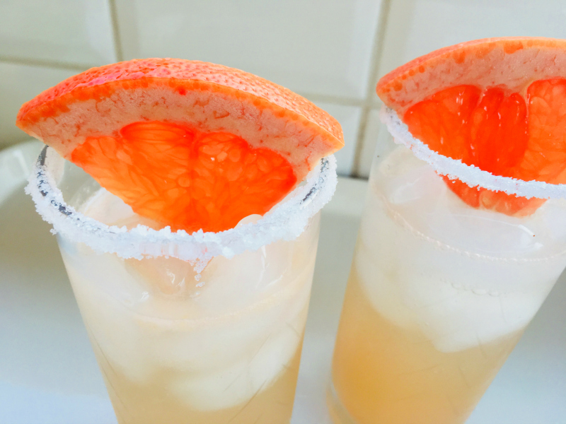 Paloma Cocktail Recipe by The Spirited Thrifter