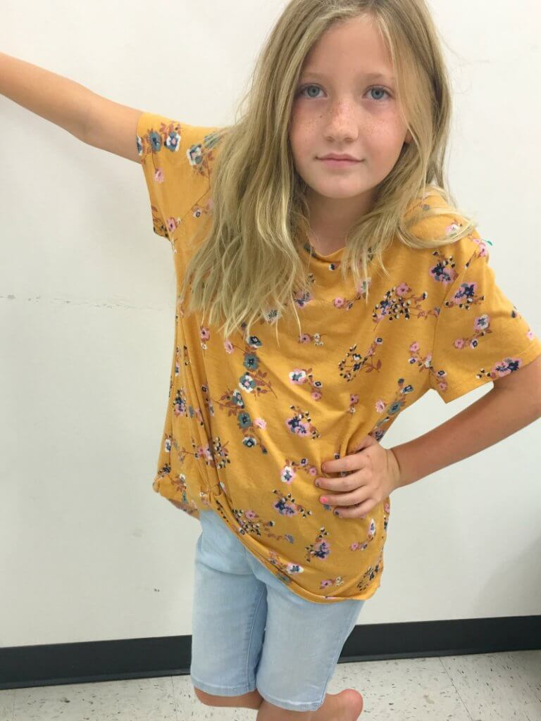 Thrifted Back-to-School Clothes