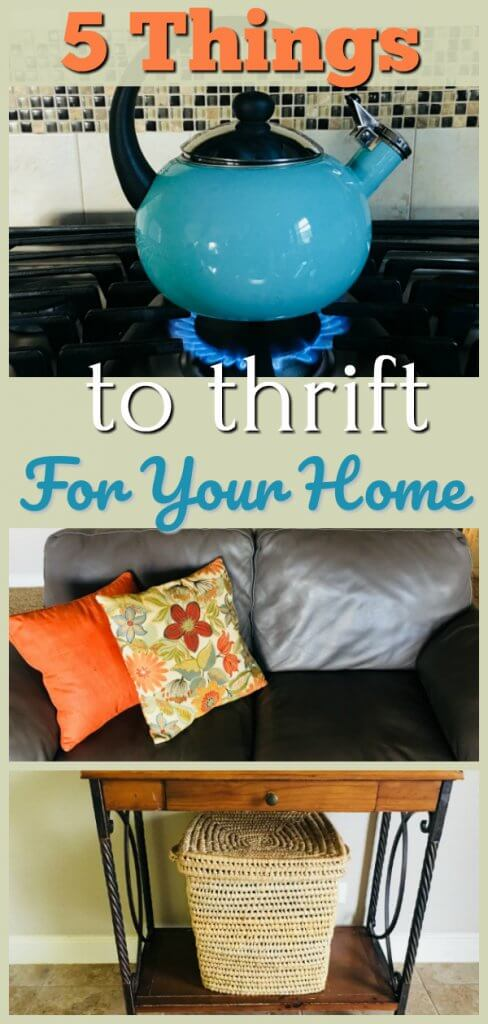 5 Things to Thrift For Your Home