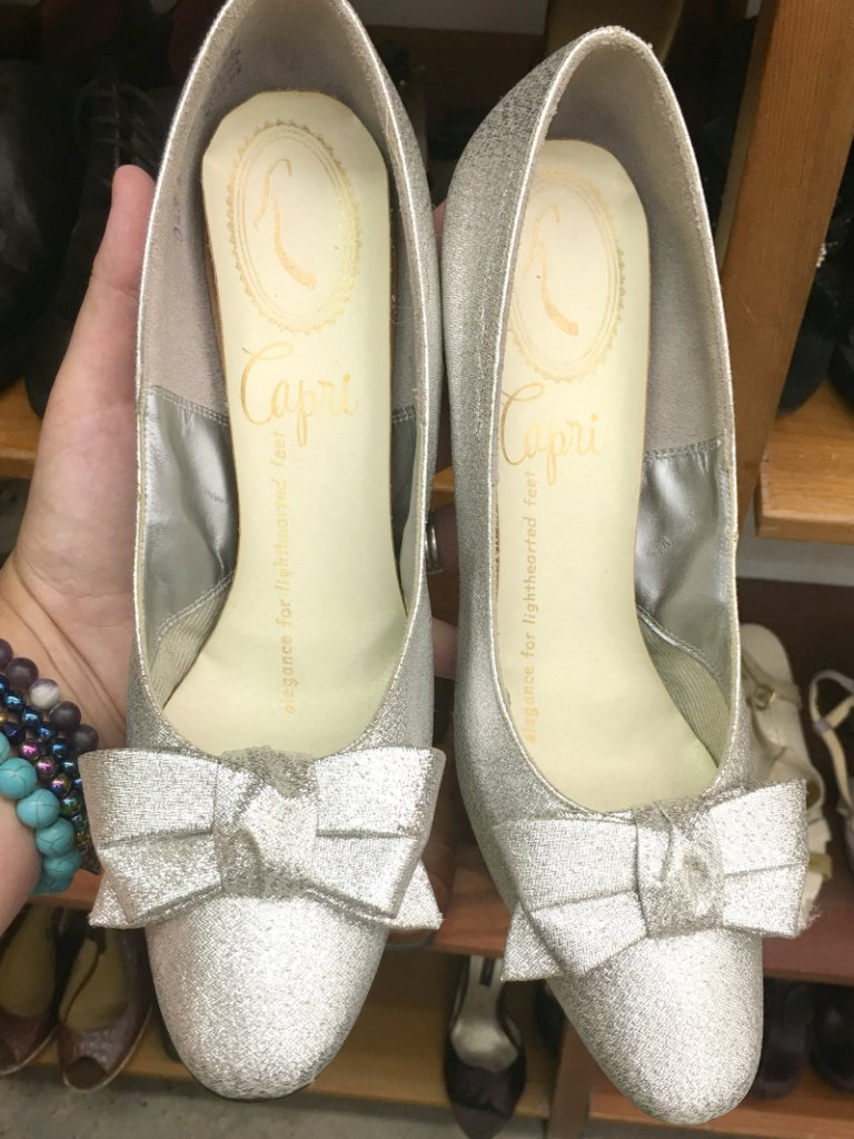 Is it Gross to Thrift Shoes by The Spirited Thrifter