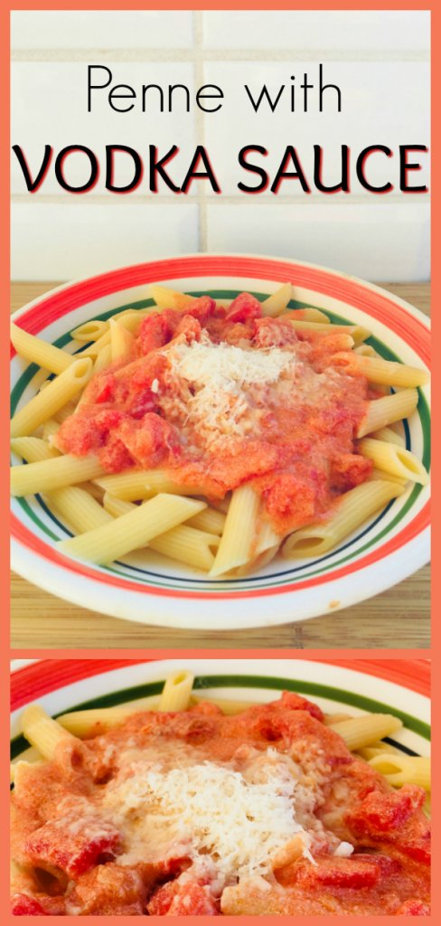 Penne with Vodka Sauce Recipe by the Spirited Thrifter