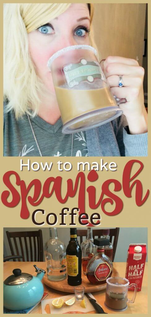 How to Make Spanish Coffee by The Spirited Thrifter