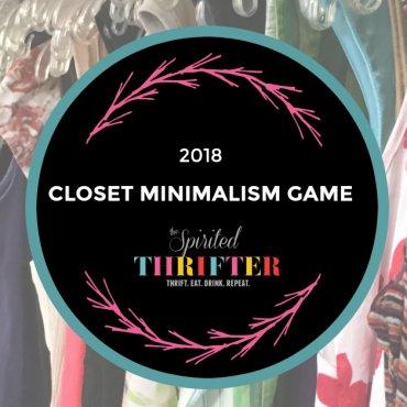 Closet Minimalism Game 2018
