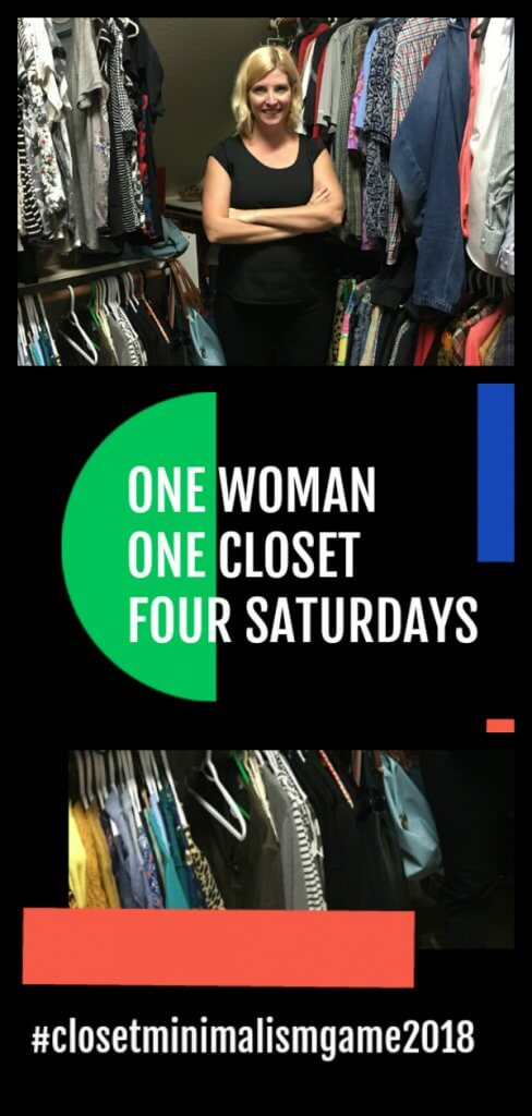 Closet Organization and Minimalist Style with the Spirited Thrifter #closeedit