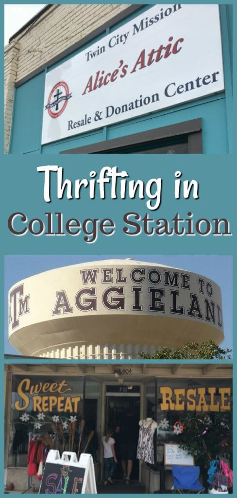 Thrifting in College Station by The Spirited Thrifter
