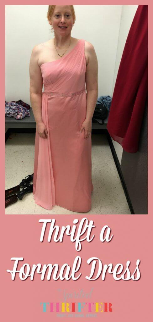 Thrift a Formal Dress by The Spirited Thrifter #formalwear #formaldress #gown #secondhand #thrifting #luxurythrift