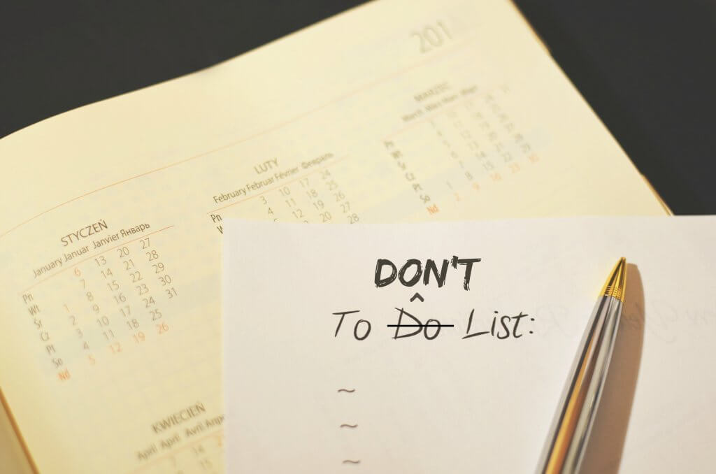 My To-Don't List | Houston Moms Blog