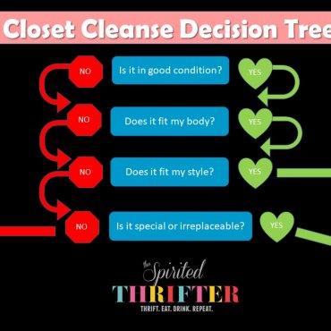 Closet Cleanse Decision Tree
